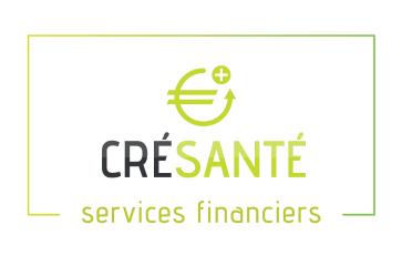 Logo Crésanté - services financiers