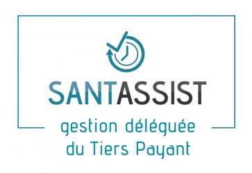 logo Santassist - gestion déléguée du Tiers Payant