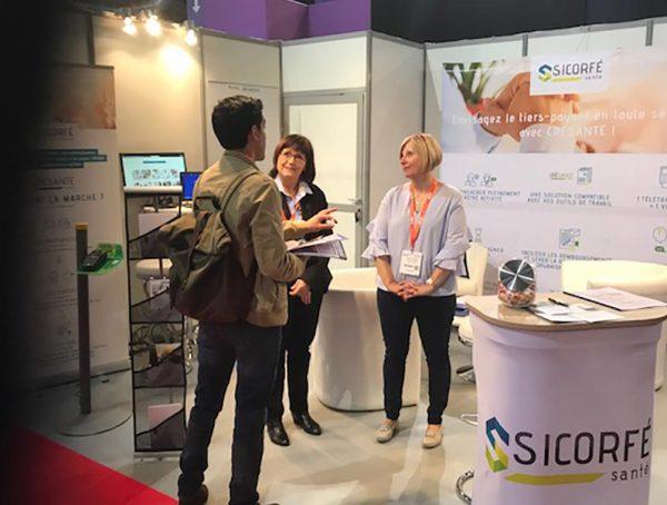 Sicorfé au Salon Pharmagora Paris 2018