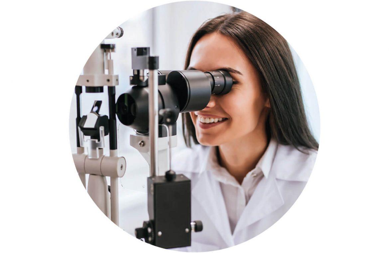 Bulle métier infirmiers médecin ophtalmologiste