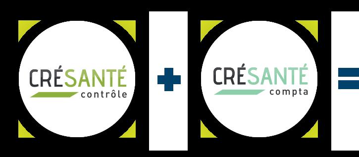 Bulles logos offre duo Crésanté